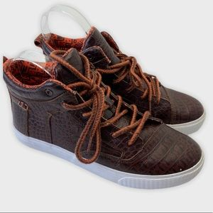 Toms Camilla High Top Sneakers Brown Size US 7.5